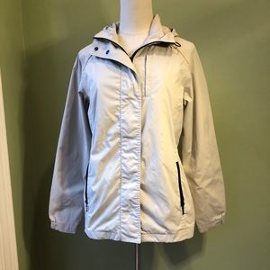 Eddie Bauer Weatheredge Hooded Raincoat Jacket